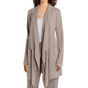 Barefoot Dreams CozyChic Calypso Wrap in Taupe